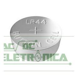 Bateria botão 1,5V 150mAh LR44 - 11,6x5,4mm