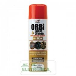 Limpa contatos elétricos 300ml - Orbi