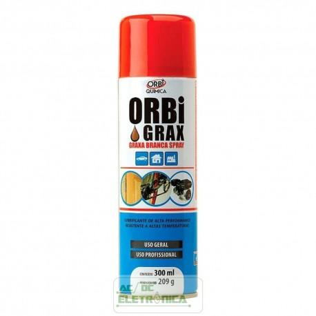 Graxa branca spray 300ml - Orbi