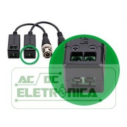 Balun passivo BNC CJ/02 un - XBP400HD Intelbras