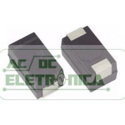 Capacitor tantalo 10uf x 35v SMD revestido polimero