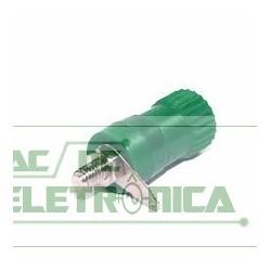 Borne 4mm verde B59
