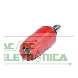 Borne 4mm 25Amp vermelho B160