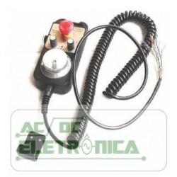 Manivela eletronica 5v 100ppr botão de emergência - ZSY1474-001-100P-5L