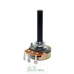 Potenciometro 220R carvão 23mm - sem chave