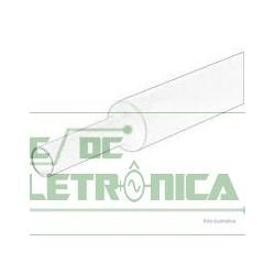 Tubo termo retratil 6mm transparente 6mm/3mm