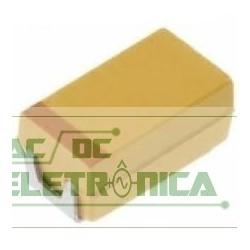 Capacitor tantalo 10uf x 25v case C SMD