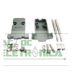 Capa conector DB9/15vga plastico Kit longo