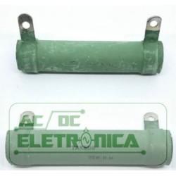 Resistor 50R 50w tubular - 80x21,6mm