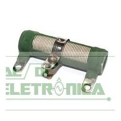 Resistor 10K 20W ajustavel tubular