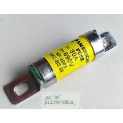 Fusivel ceramico 80A x 690v 17x40 GSG HRC-BS88