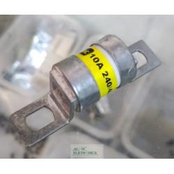 Fusível ceramico 10A 240/450v FS3005 18x23mm