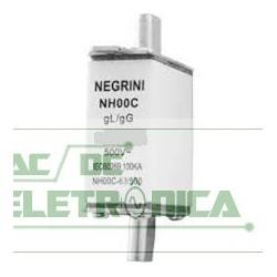 Fusivel ceramico 100A 500v gL. gG NH 00 retardo IEC269