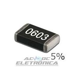Resistor 100R 1/16w 5%  SMD 0603