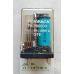 Relé ZA900000 2 cont. 10 pinos schrack