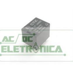 Relé 24Vcc 12A 1 contato reversivel - CTK