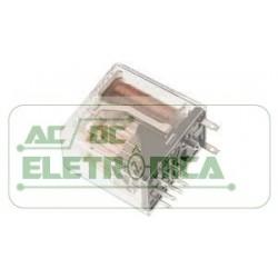 Relé 125Vdc 2A 4 contatos reversiveis V23154-D0422-B110 SIEMENS