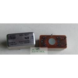 Relé 16Vcc 1A 2 contatos selado RS-16V  SDS