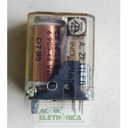 Relé 48Vcc 2 contatos CZ10-S2Y 6.900.48 Zettler