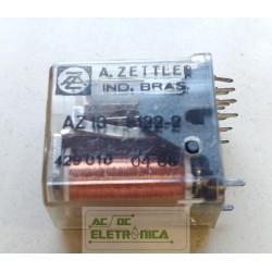 Relé AZ10 - 5122-2 4 contatos 14 pinos A.zettler