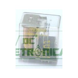 Relé 48Vcc 3A 2 contatos reversiveis SBMS2RC4/3A