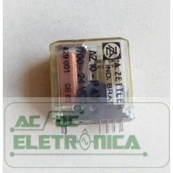 Relé 24Vcc AZ10-P4Y 700 4 contatos 14 pinos A.zettler