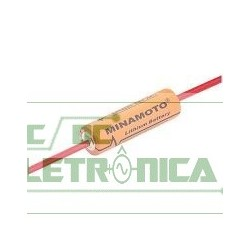 Bateria 3,6v AA 2500mAh lithium ER14505 c/terminal - 14x50mm