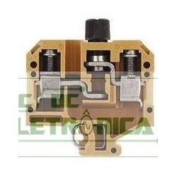 Borne SAKS 1 10mm² c/ porta fusivel 0191220000 - Conexel