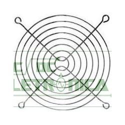 Grade p/ ventilador 150x150mm metal preto