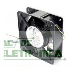 Ventoinha 120x120x38mm 110/220v Rolamento c/grade nework