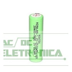 Bateria recarregavel 1,2V 2500mAh AA c/terminal Ni-MH C/2 pç