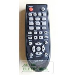 Controle DVD Samsung C550k - LHS779A