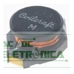 Bobina indutora fixa 1mH 300mHa 3R SMD - DO3316P-105MLB