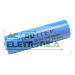 Bateria 3,6v AA 2400mAh lithium ER14505 - 14,5x50,5mm