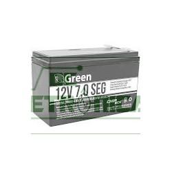 Bateria 12V 7Amp recarregavel selada