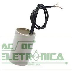 Capacitor de partida 10uF x 250Vac 60hz 5%