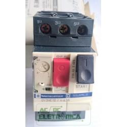 Disjuntor termomagnético motor GV2 ME10 Tesys 4-6.3A 100Ka