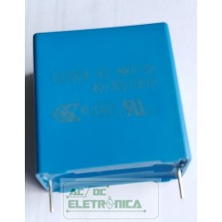 Capacitor polipropileno supressor x2 4,7uF x 305vAC - 475 x 305V~