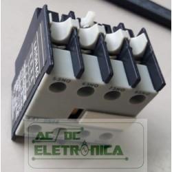 Bloco de contato auxiliar LA1DN40 4NA Telemecanique