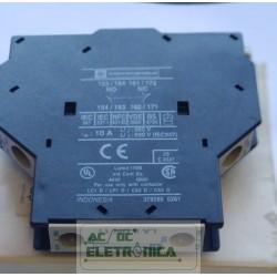 Bloco de contato auxiliar lateral LA8DN11 076796 Telemecanique