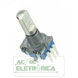 Encoder rotativo rotary com botão arduino esp8266 nodemcu