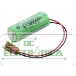 Bateria 3v  2500mAh lithium CR17450SE-R Sanyo
