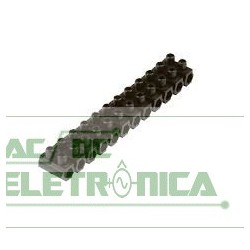 Barra de borne c/12 preto 16mm² polietileno (sindal)