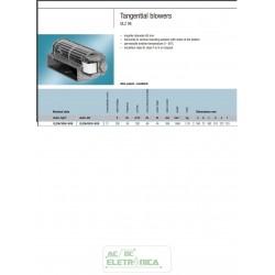 Ventilador centrífugo 180mm 220/230vac - QLZ06/3000-3038LH-37 - ebmpapst