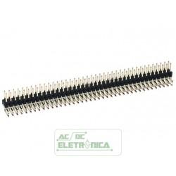 Barra de pinos 2x40 90º 11,2mm