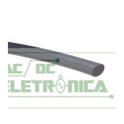 Tubo termo retratil 6mm preto 6mm/3mm