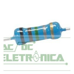 Resistor 0R15 1w 5% - Marrom verde prata dourado