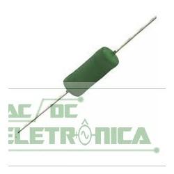 Resistor 0R10 5w 5% - Marrom preto prata dourado
