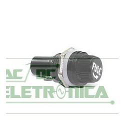 Porta fusivel painel rosca 5x20mm 10A 250v