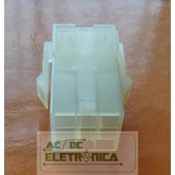 Conector 09 vias femea 4,14mm 660809hp051 - Excon